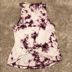 American Eagle Outfitters Soft & Sexy Tie Dye Tank